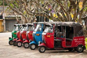 Cost for Tuk Tuk in Srilanka