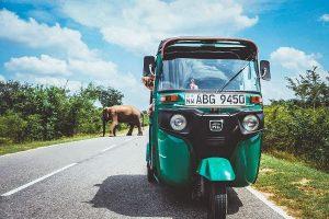 Explaining the road in sri lanka