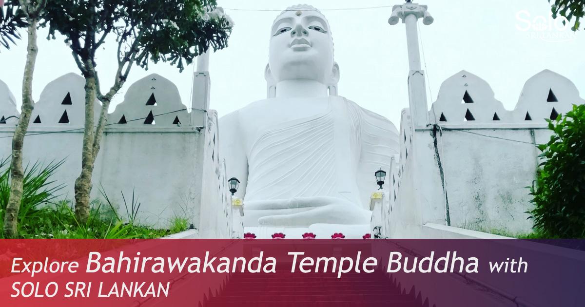 BAHIRAWAKANDA TEMPLE BUDDHA STATUE