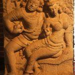 Isrumuniya lovers 4 6 .cent . A D in Anuradhapura Museum 1